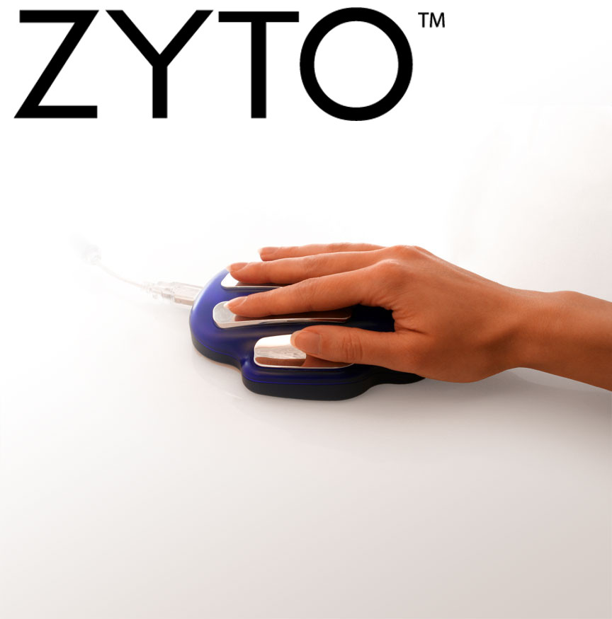 zyto cradle with hand grad
